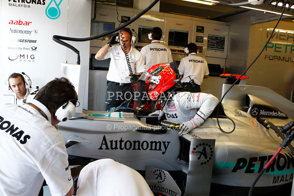 Motorsports / Formula 1: World Championship 2010, GP of Hungary, 03 Michael Schumacher (GER, Mercedes GP Petronas),