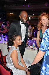 OG & JOY AMAZU at The Butterfly Ball in aid of Caudwell Children held at the Grosvenor House, Park Lane, London on 25th June 2015