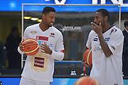 Marquez Haynes Dustin Hogue<br /> Dolomiti Energia Aquila Basket Trento - Umana Reyer Venezia<br /> Lega Basket Serie A 2016/2017<br /> PalaTrento 05/02/2017<br /> Foto Ciamillo-Castoria