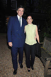 PRINCE & PRINCESS KARL VON AUERSPERG-BREUNNER at the annual Cartier Chelsea Flower Show dinner held at the Chelsea Physic Garden, London on 21st May 2007.<br />