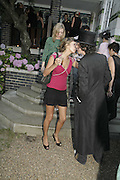 Rose Hanbury, Stephen Jones Summer Hat party to celebrate 25 years of Milllinery. Debenham House, 8 Addison Rd. Holland Park, London. 13 July 2006.  ONE TIME USE ONLY - DO NOT ARCHIVE  © Copyright Photograph by Dafydd Jones 66 Stockwell Park Rd. London SW9 0DA Tel 020 7733 0108 www.dafjones.com