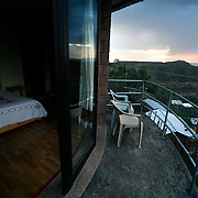 The Tukul Village Hotel in Lalibela, Ethiopia.