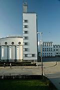 10.10.2006 Warszawa Akademia Wychowania Fizycznego budynek glowny.Fot Piotr Gesicki Academy of Phisical Education Warsaw Poland Photo Piotr Gesicki