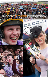 """And their off"".A predictably start to the first day raceing at the Galway Races 2010 with a win for Galway trainer Dermot Weld in the Hotel Meyrick Novice Hurdle for Force Of Habit. Pic Andres Poveda"