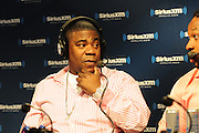 2/1/13 New Orleans LA.-NFL Super Bowl XLV11 Radio Row actor Tracey Morgan with SiriusXM Radio.Photo©Suzi Altman