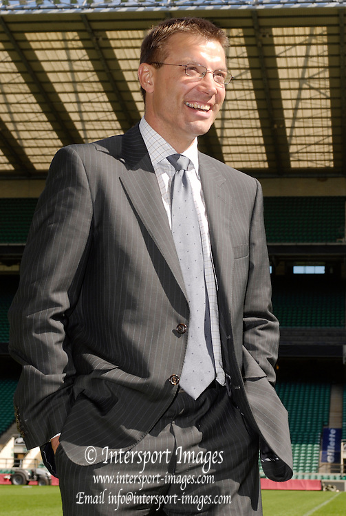 RFU Stadium, Twickenham, GREAT BRITAIN,  RFU Press conference to introduce,  Rob ANDREW, England's new director of elite rugby, 07/09/2006.  Photo  Peter Spurrier, © Intersport Images,  Tel +44 [0] 7973 819 551,  email images@intersport-images.com