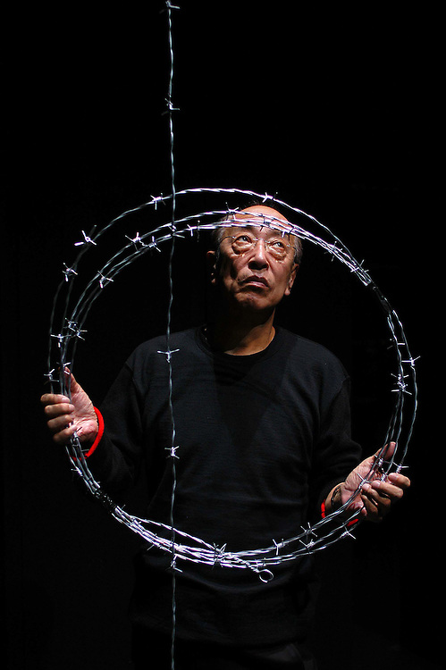 Picture By Jim Wileman  27/09/2004  Japenese Theatrical Director Yukio Ninagawa, at the Theatre Royal, Plymouth, Devon.