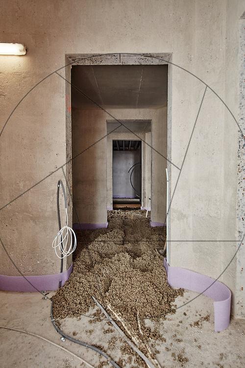 DLG-siloen Nordhavn, UNIONkul, ombygning af kornsilo til luksuslejligheder, Klaus Kastbjerg, interiør, råhus, betonvægge, stabilgrus