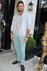 SPENCER MATTHEWS at the launch of Hideaways House at Morton's Club, Berkeley Square, London on 25th July 2012.