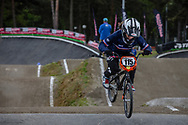 #115 (MOROT Charlotte) FRA during round 3 of the 2017 UCI BMX  Supercross World Cup in Zolder, Belgium,