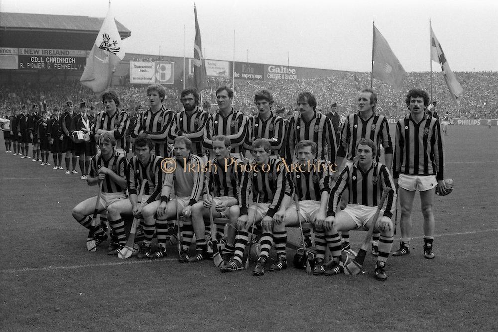 05/09/1982<br /> 09/05/1982<br /> 5 September 1982<br /> All-Ireland Hurling Final: Cork v Kilkenny at Croke Park, Dublin. <br /> The Kilkenny team.