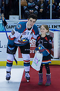 KELOWNA, CANADA - FEBRUARY 24:  First Star of the Game Dillon Dube #19 of the Kelowna Rockets at the Kelowna Rockets game on February 24, 2018 at Prospera Place in Kelowna, British Columbia, Canada.  (Photo By Cindy Rogers/Nyasa Photography,  *** Local Caption ***