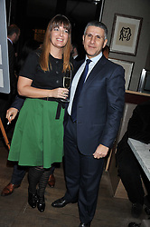 AMIT & SABINE BEN-HAIM attend the MARC Restaurants Truffle Dinner hosted by Marlon & Nadya Abela at Cassis, 232-236 Brompton Road, London on 13th February 2013.