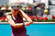 Sabine Lisicki during day two of the Madrid Open at Manzanares Park Tennis Centre, Madrid<br /> Picture by EXPA Pictures/Focus Images Ltd 07814482222<br /> 03/05/2016<br /> ***UK & IRELAND ONLY***<br /> EXPA-ESP-160503-0034.jpg