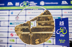 Trophy during press conference of 25th Tour de Slovenie 2018 cycling race, on June 12, 2018 in Hotel Livada, Moravske Toplice, Slovenia. Photo by Vid Ponikvar / Sportida