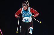 PYEONGCHANG-GUN, SOUTH KOREA - FEBRUARY 12: Lena Haecki of Switzerland during the Womens Biathlon 10km Pursuit at Alpensia Biathlon Centre on February 12, 2018 in Pyeongchang-gun, South Korea. Photo by Nils Petter Nilsson/Ombrello               ***BETALBILD***