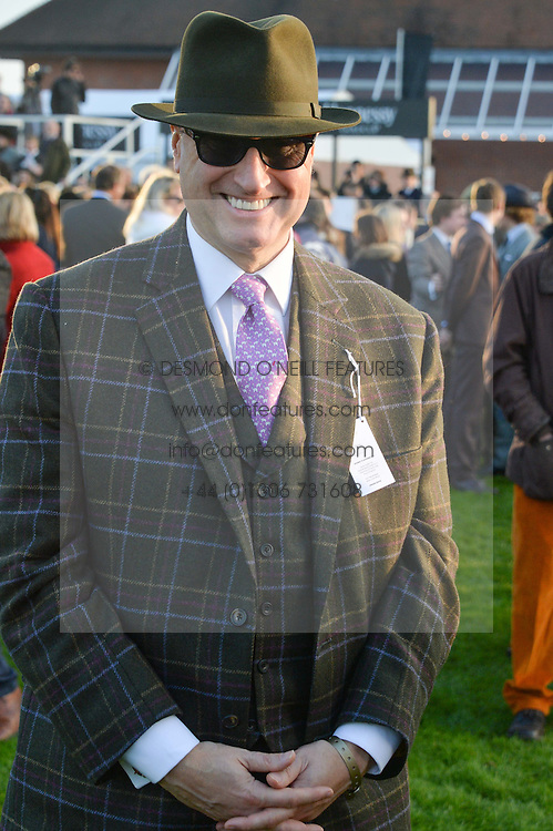 RICH RICCI at the 2014 Hennessy Gold Cup at Newbury Racecourse, Newbury, Berkshire on 29th November 2014.  The Gold Cup was won by Many Clouds ridden by Leighton Aspell.