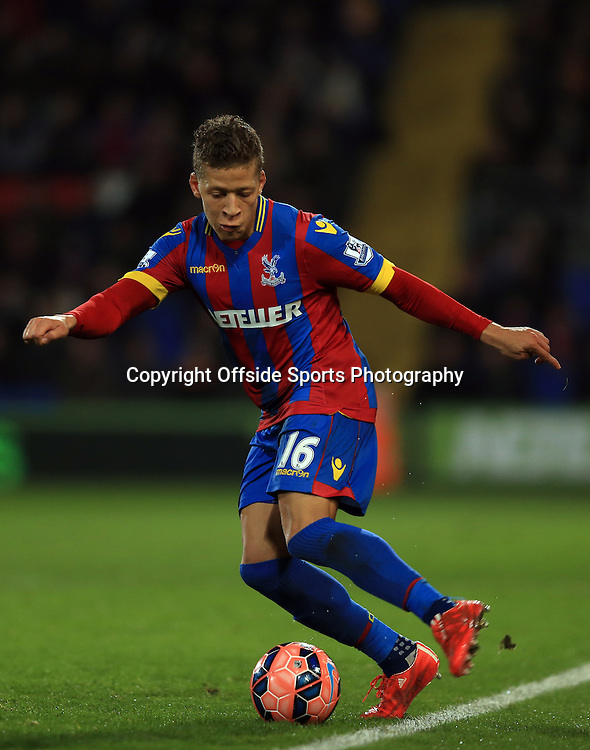 14 February 2015 - The FA Cup Fifth Round - Crystal Palace v Liverpool - Dwight Gayle of Crystal Palace - Photo: Marc Atkins / Offside.