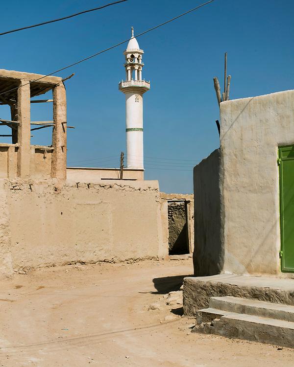 Dulab, a calm village of the sea coast of Qeshm Island