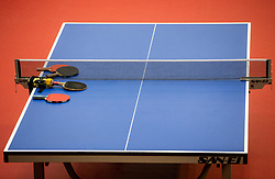 Rackets during Team events at Day 4 of 16th Slovenia Open - Thermana Lasko 2019 Table Tennis for the Disabled, on May 11, 2019, in Dvorana Tri Lilije, Lasko, Slovenia. Photo by Vid Ponikvar / Sportida