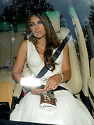 25.JUN.2009 - WINDSOR<br /> <br /> LIZ HURLEY AND ARUN NAYER ARRIVING AT THE WHITE TIARA BALL AT ELTON JOHNS HOUSE IN WINDSOR.<br /> <br /> BYLINE MUST READ : EDBIMAGEARCHIVE.COM<br /> <br /> *THIS IMAGE IS STRICTLY FOR UK NEWSPAPERS &amp; MAGAZINES ONLY*<br /> *FOR WORLDWIDE SALES OR WEB USE PLEASE CONTACT EDBIMAGEARCHIVE - 0208 954 5968*