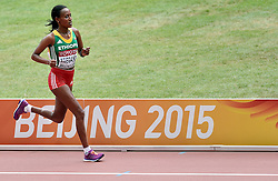 30-08-2015 CHN: IAAF World Championships Athletics day 9, Beijing<br /> Tirfi Tsegaye ETH werd achste op de marathon<br /> Photo by Ronald Hoogendoorn / Sportida
