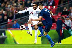 Ruben Loftus-Cheek of England take on Matt Miazga of USA - Mandatory by-line: Robbie Stephenson/JMP - 15/11/2018 - FOOTBALL - Wembley Stadium - London, England - England v United States of America - International Friendly