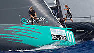 SPAIN, Barcelona. 15th September 2011. AUDI MedCup, Conde de Godo Barcelona Trophy. TP52 start with Quantum Racing (left) and RAN