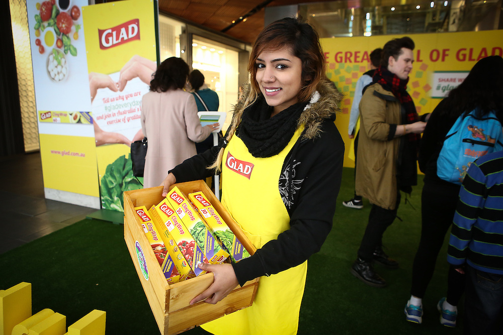 Glad Cling Wrap Campaign Launch