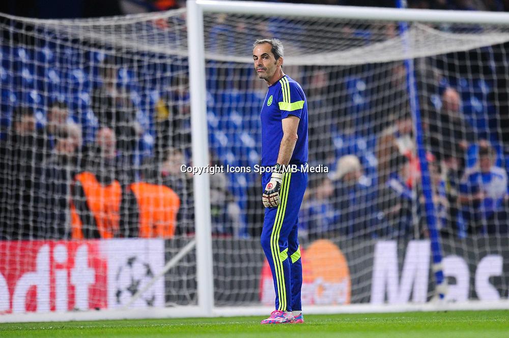 Christophe Lollichon - 11.03.2015 - Chelsea / Paris Saint Germain - 1/8Finale Champions League<br />Photo : Johnny Fidelin / Icon Sport