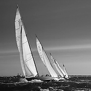 12 Meter Class American Eagle racing in the Opera House Cup regatta.