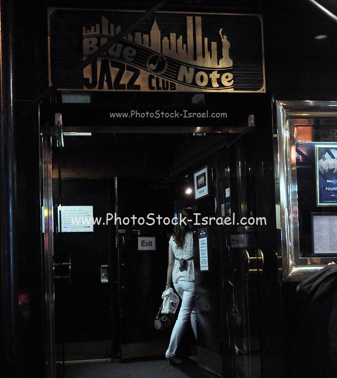 Blue Note Jazz club New York City