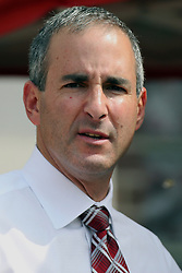 15 September 2012:  Athletic Director Gary Friedman during an NCAA football game between the Eastern Illinois Panthers and the Illinois State Redbirds at Hancock Stadium in Normal IL