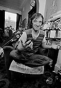 Martin Carthy at home in London