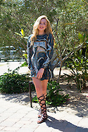 Peyton List at the Nylon Coachella Party 2015