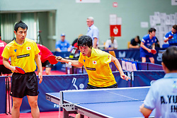 (Team JPN) MIYAUCHI Ryo and TAKAHASHI Toshiya in action during 15th Slovenia Open - Thermana Lasko 2018 Table Tennis for the Disabled, on May 10, 2018 in Dvorana Tri Lilije, Lasko, Slovenia. Photo by Ziga Zupan / Sportida