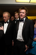 Sir David Frost, George Frost and Miles Frost. Annual  Award dinner given by the Media Society in honour of Sir David Frost. Savoy. 9 March 2005. ONE TIME USE ONLY - DO NOT ARCHIVE  © Copyright Photograph by Dafydd Jones 66 Stockwell Park Rd. London SW9 0DA Tel 020 7733 0108 www.dafjones.com