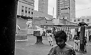 Triqui Indians commuity of migrants from Oaxaca. They lives in shanty towns or in abandoned old houses.  in More than 400.000 Indians live in the heart of the one of the largest megalopoli on earth ? Mexico City. Tenaciously clinging to to ancient traditions, they continue to have ties to their homes so strong that some researchers define these urban groups as ?embassies? for their distant villages.
