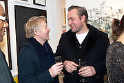 HARRY NICOLL; BEN TURNBULL;  Christmas Salon at Eleven. Eccleston st. London. 9 December 2010. -DO NOT ARCHIVE-© Copyright Photograph by Dafydd Jones. 248 Clapham Rd. London SW9 0PZ. Tel 0207 820 0771. www.dafjones.com.