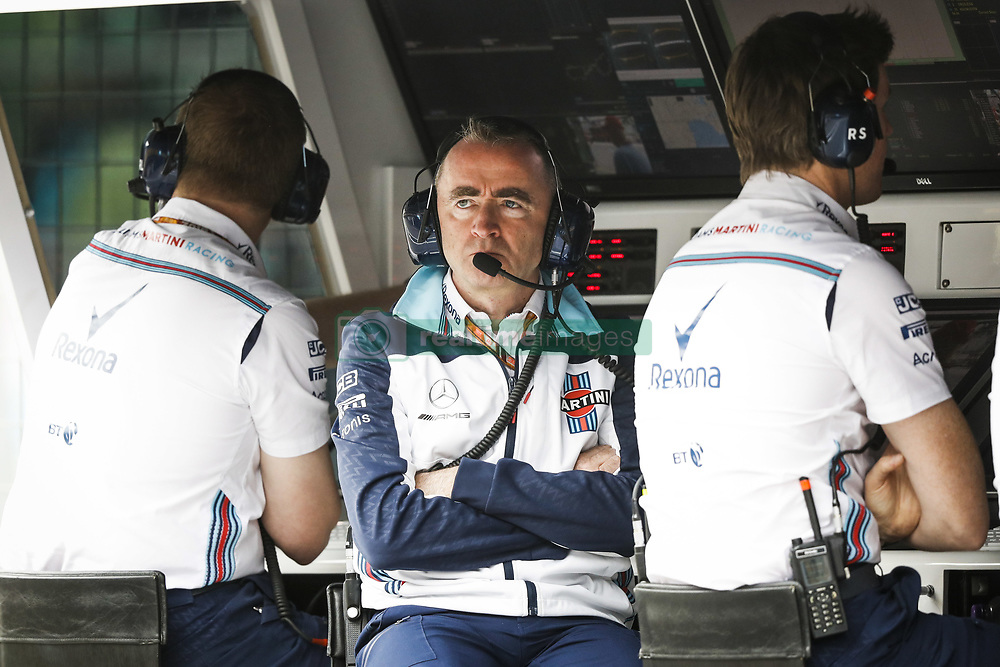 April 28, 2018 - Baku, Azerbaijan - LOWE Paddy (gbr), Chief Technical Officer, Williams F1, portrait during the 2018 Formula One World Championship, Grand Prix of Europe in Azerbaijan from April 26 to 29 in Baku  (Credit Image: © Hoch Zwei via ZUMA Wire)