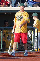 """29 July 2017: Mitch """"Wild Thing"""" Williams - Legends Baseball game sponsored by the Normal CornBelters at Corn Crib Stadium on the campus of Heartland Community College in Normal Illinois"""