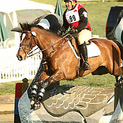 Buck Davidson and Private TrBruceeaty at the 2007 Fork Horse Trials & CIC3*-W in Norwood, North Carolina
