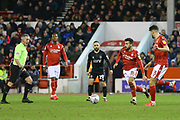 Nottingham Forest midfielder Tiago Silver passes the ball during the EFL Sky Bet Championship match between Nottingham Forest and Charlton Athletic at the City Ground, Nottingham, England on 11 February 2020.