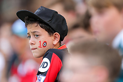 A Bournemouth fan looks on - Rogan Thomson/JMP - 14/08/2016 - FOOTBALL - Vitality Stadium - Bournemouth, England - Bournemouth v Manchester United - Premier League Opening Weekend.
