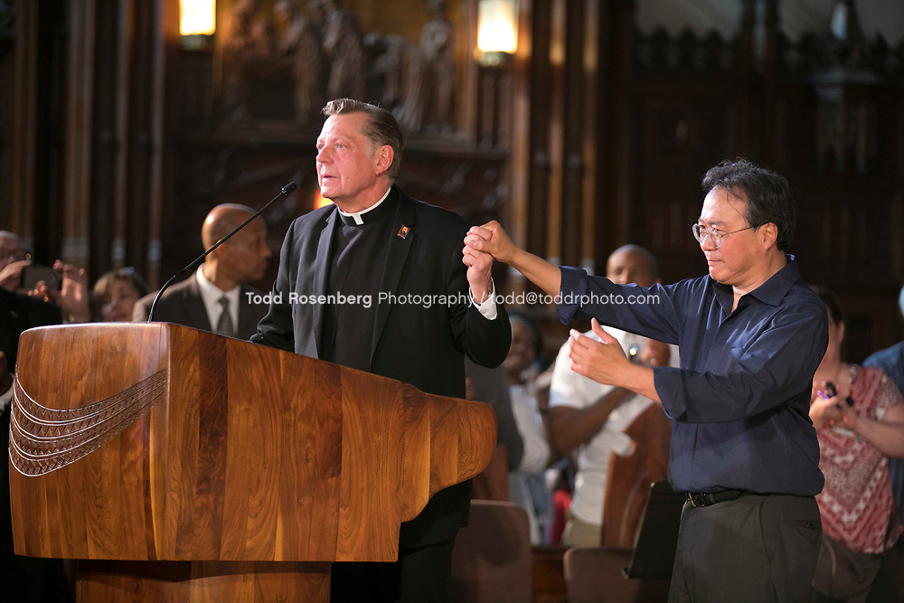 6/11/17 4:12:13 PM --  Chicago, IL<br /> The Negaunee Music Institute at the Chicago Symphony Orchestra <br /> <br /> Yo-Yo Ma Presents a Concert for Peace <br /> Presented in partnership with St. Sabina Church<br /> <br />  &copy;&nbsp;Todd Rosenberg Photography 2017