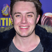 Roman Kemp arrives at the Creme Egg Camp - grand opening at its Shoreditch pop-up with an evening of themed cocktails and treats on 18th January 2018, London, UK.