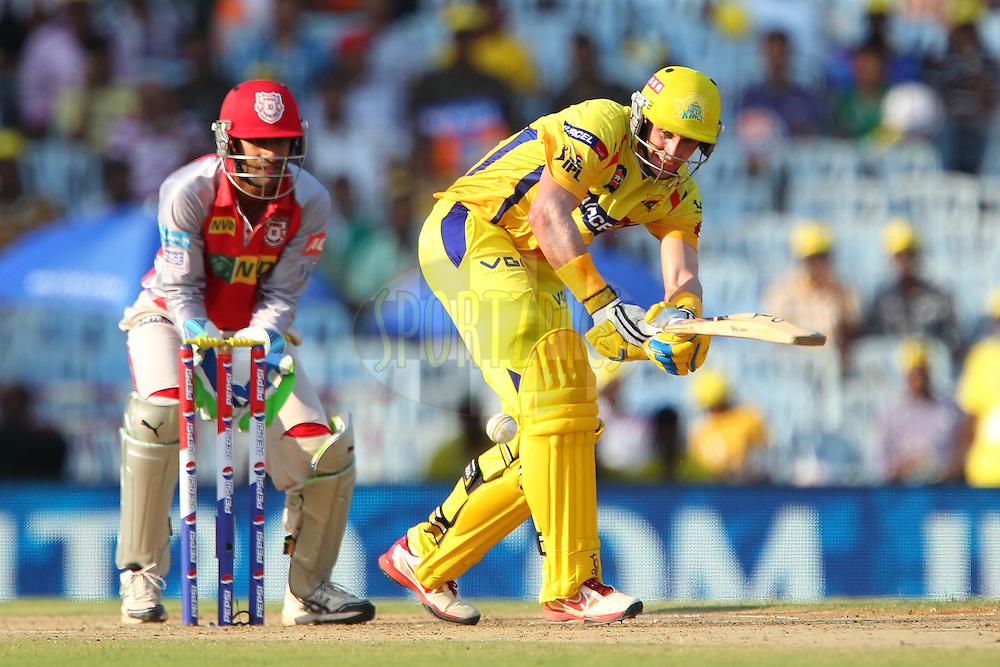Michael Hussey during match 45 of the Pepsi Indian Premier League between The Chennai Superkings and the Kings XI Punjab held at the MA Chidambaram Stadium in Chennai on the 2nd May 2013..Photo by Ron Gaunt-IPL-SPORTZPICS   .. .Use of this image is subject to the terms and conditions as outlined by the BCCI. These terms can be found by following this link:..http://www.sportzpics.co.za/image/I0000SoRagM2cIEc