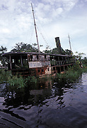 Steam powered Amazonian riverboat, used in the Werner Herzog epic film, Fitzcarraldo. Now it lies abandoned in Iquitos, Peru.