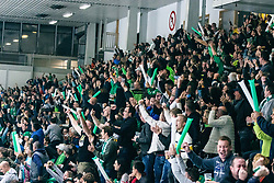 fans of Olympia during 500th derbi between HK SZ Olimpija Ljubljana vs HDD SIJ Acroni Jesenice  - AHL 2019/20, on the 26th of  Oktober, Ljubljana, Slovenia. Photo by Matic Ritonja / Sportida