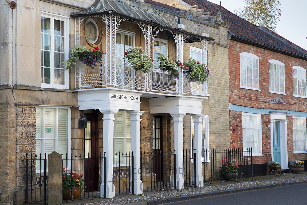Milestone House bed and breakfast tourist hotel in Yoxford, Saxmundham, Suffolk, England, UK